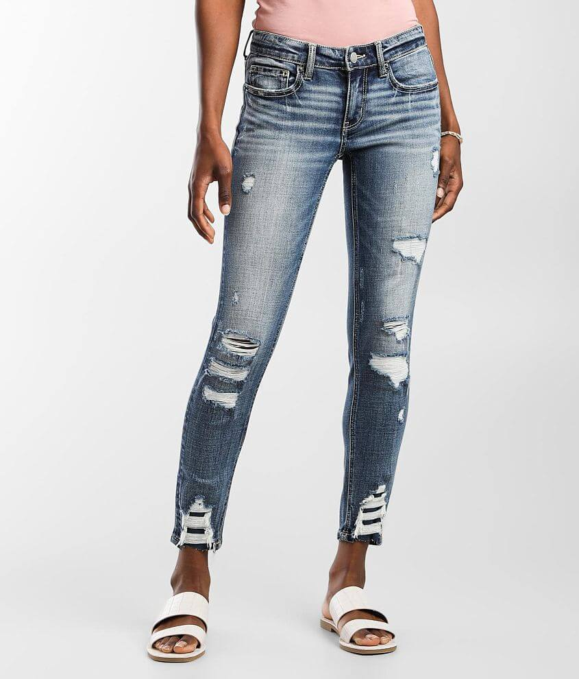 BKE Stella Ankle Skinny Stretch Jean front view
