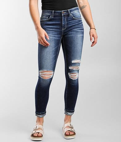 BKE Payton Ankle Skinny Stretch Cuffed Jean