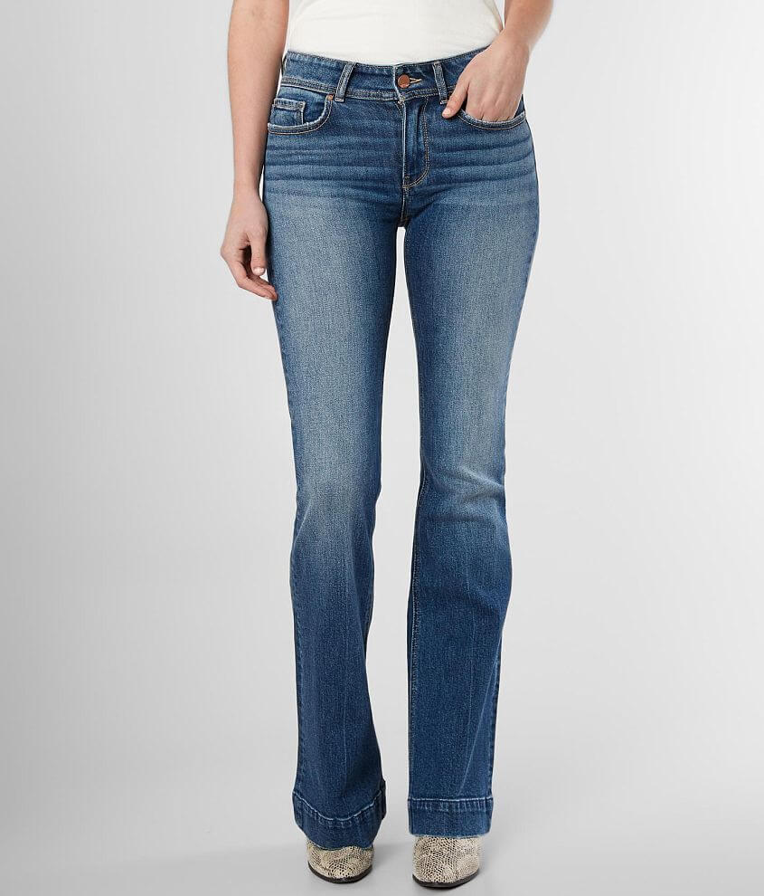 sale uk various styles search for original BKE Stella Mid-Rise Flare Stretch Jean - Women's Jeans in ...