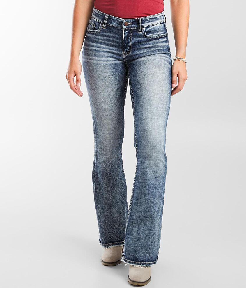 BKE Payton Flare Stretch Jean front view