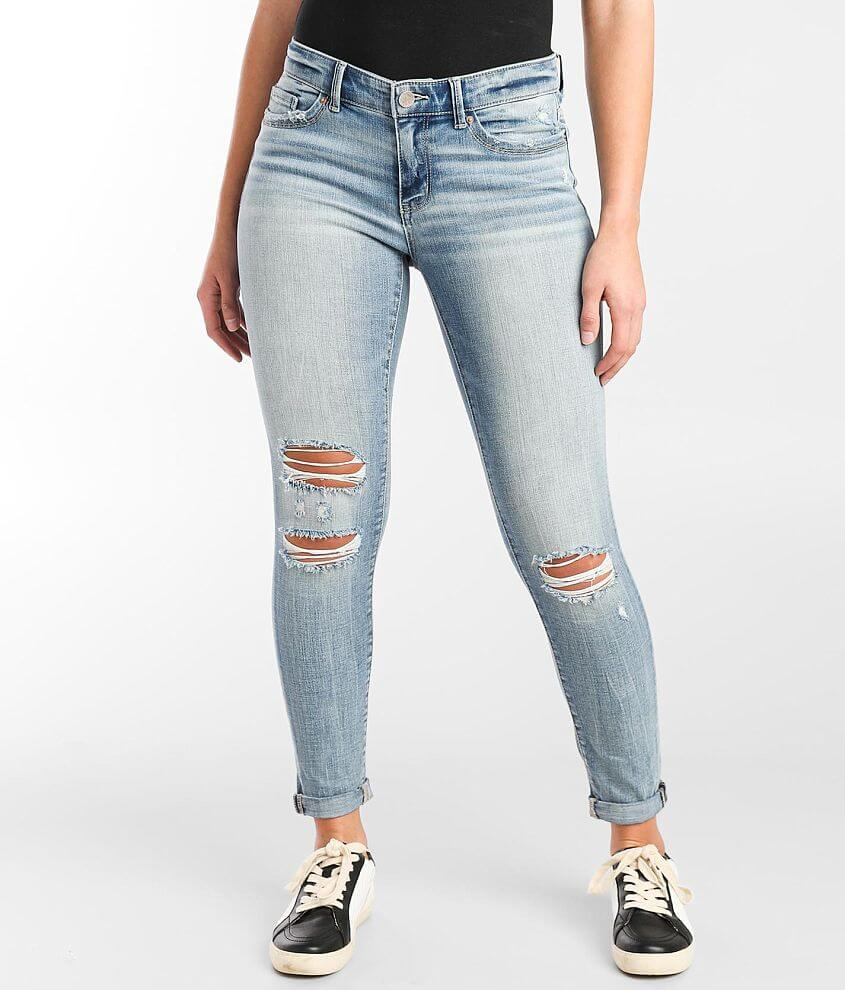 BKE Payton Ankle Skinny Stretch Cuffed Jean front view