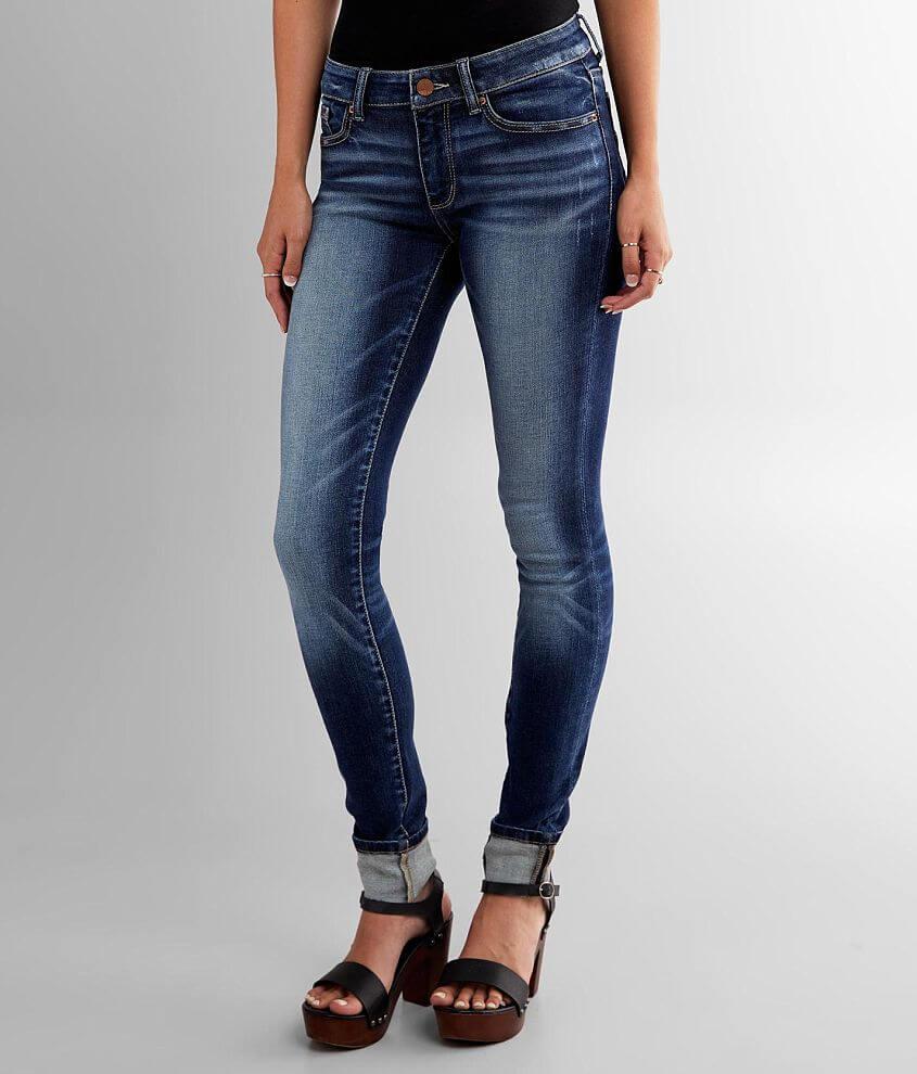 BKE Stella Skinny Stretch Cuffed Jean front view