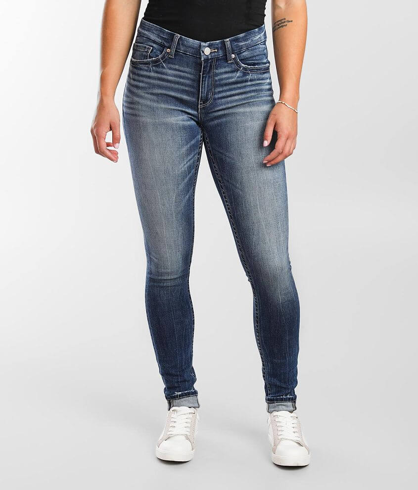 BKE Payton Skinny Stretch Cuffed Jean front view