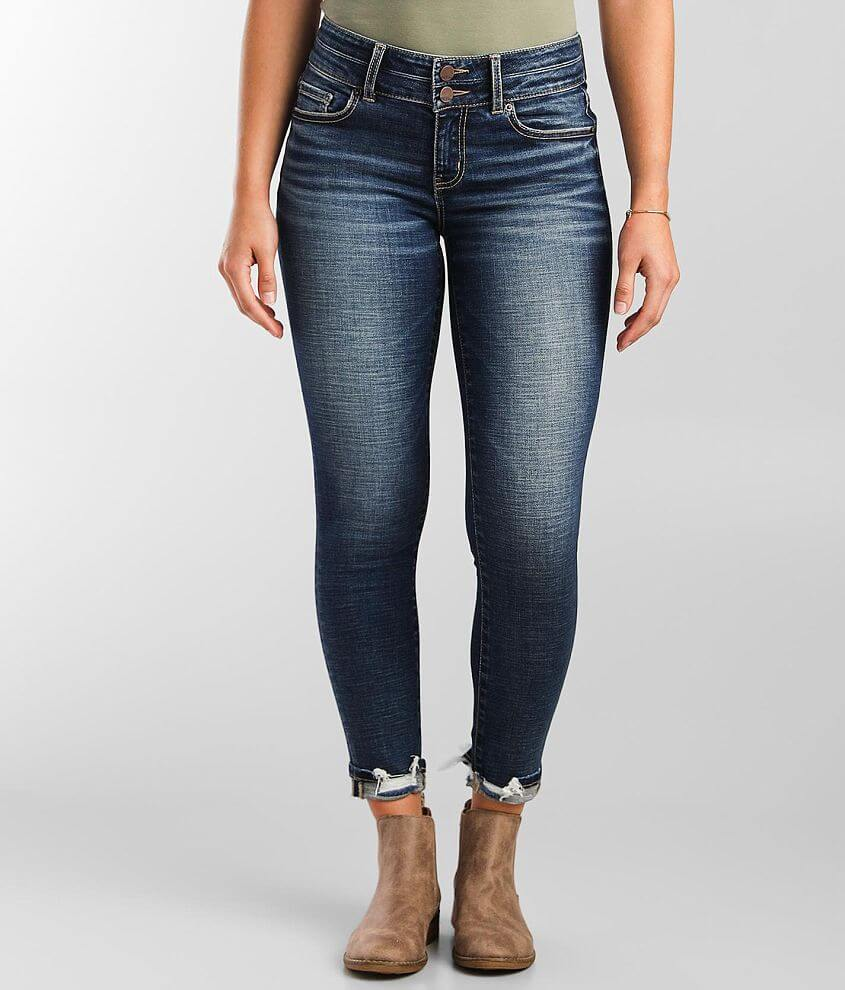 BKE Victoria Ankle Skinny Stretch Cuffed Jean front view
