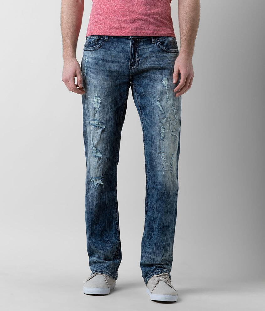BKE Carter Straight Stretch Jean front view
