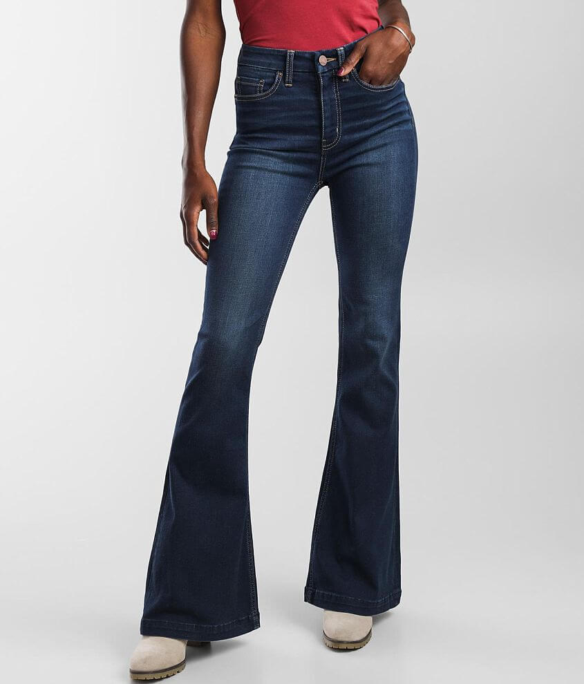 BKE Billie Flare Stretch Jean front view