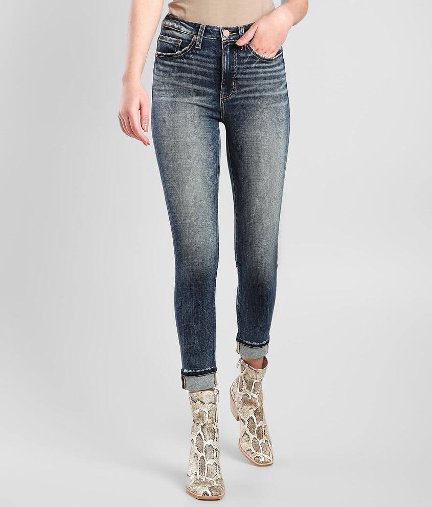 BKE Billie Ankle Skinny Stretch Cuffed Jean front view