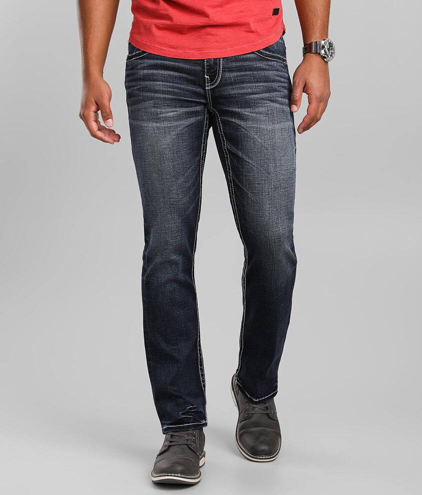 Buckle Black Three Boot Jean front view
