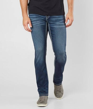 Buckle Black Three Straight Jean