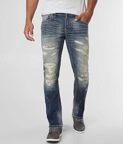 Buckle Black Three Straight Jean