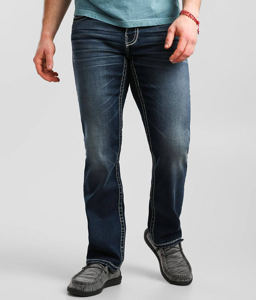 Buckle Black Nine Straight Jean front view