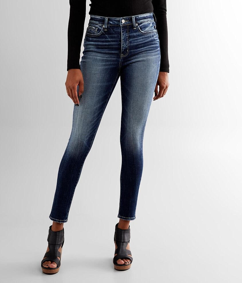 Buckle Black Fit No. 75 Skinny Jean front view