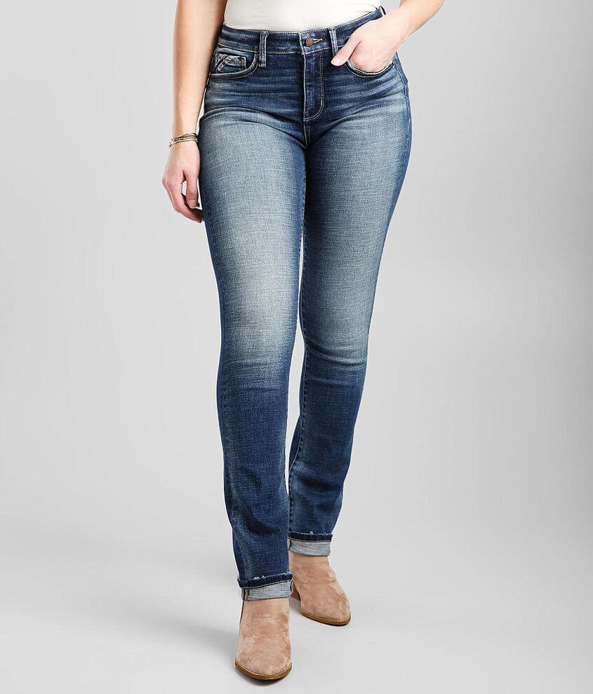 Buckle Black Fit No93 Straight Jean front view