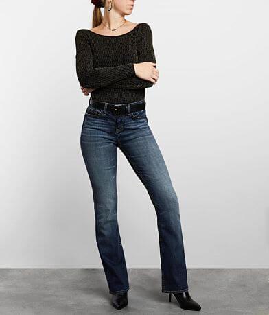 Buckle Black Curvy Boot Jean