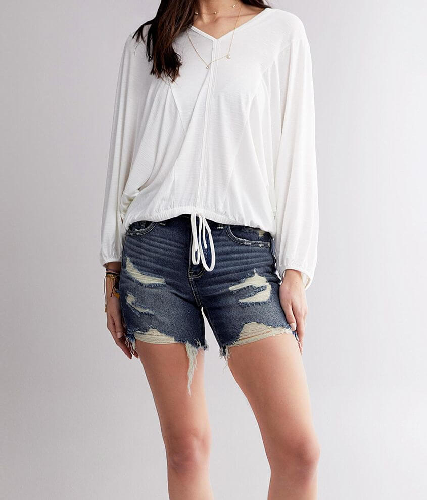 Buckle Black Fit 53 Stretch Short front view
