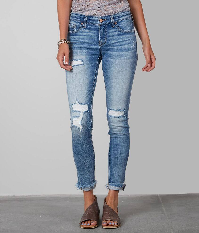 Buckle Black Fit No 53 Skinny Jean front view