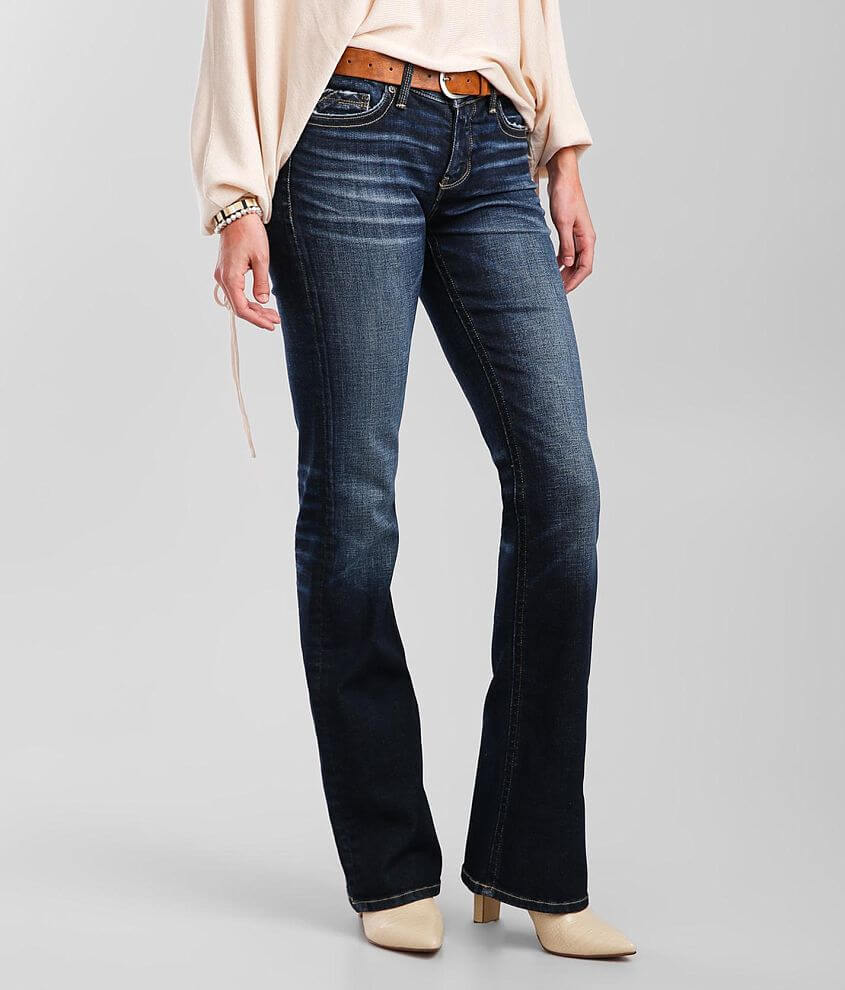 Buckle Black Fit 53 Boot Jean front view