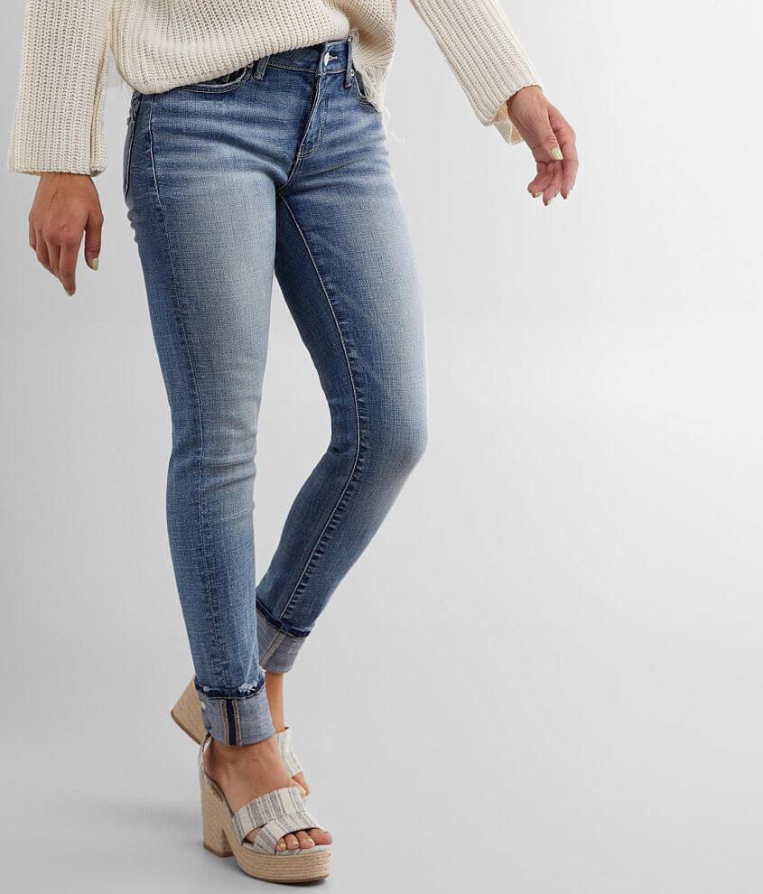 Buckle Black Fit 53 Ankle Jean front view