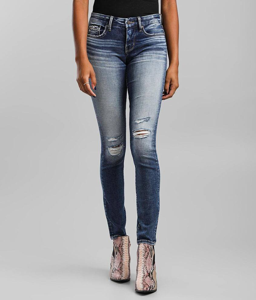 Buckle Black Fit 53 Skinny Jean front view
