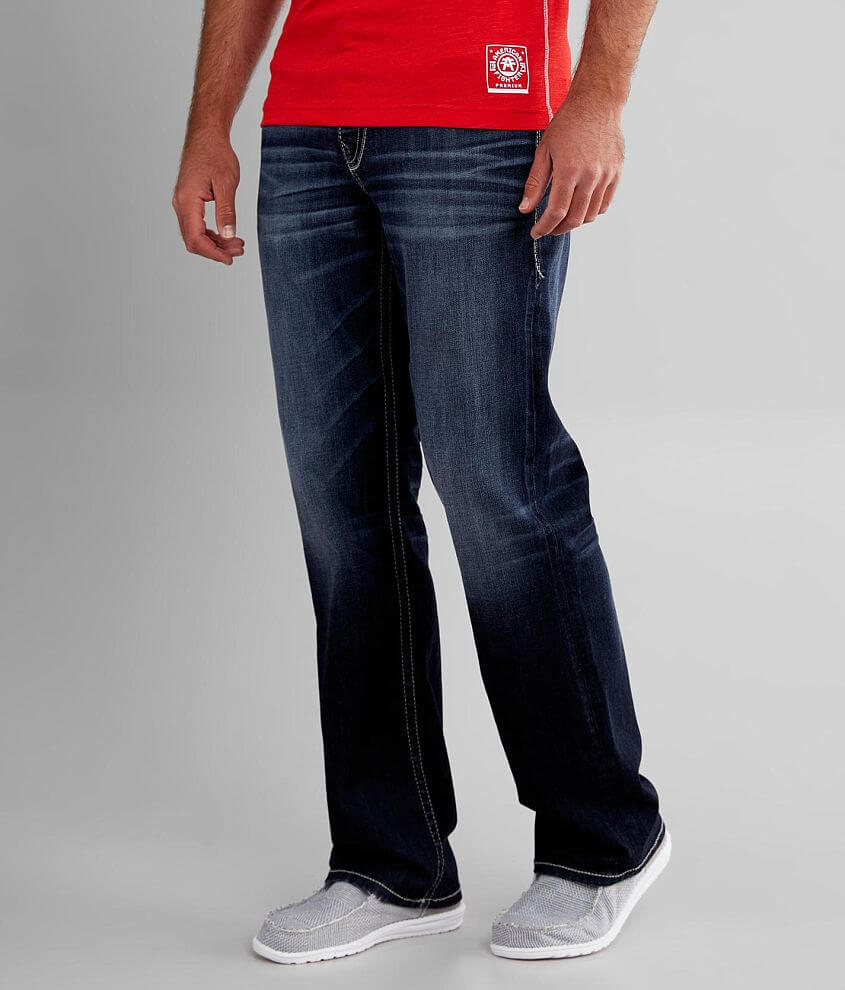 Buckle Black Eleven Straight Stretch Jean front view