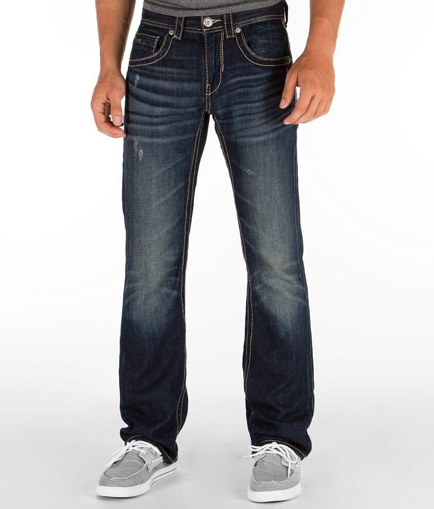 Buckle Black Three Jean front view