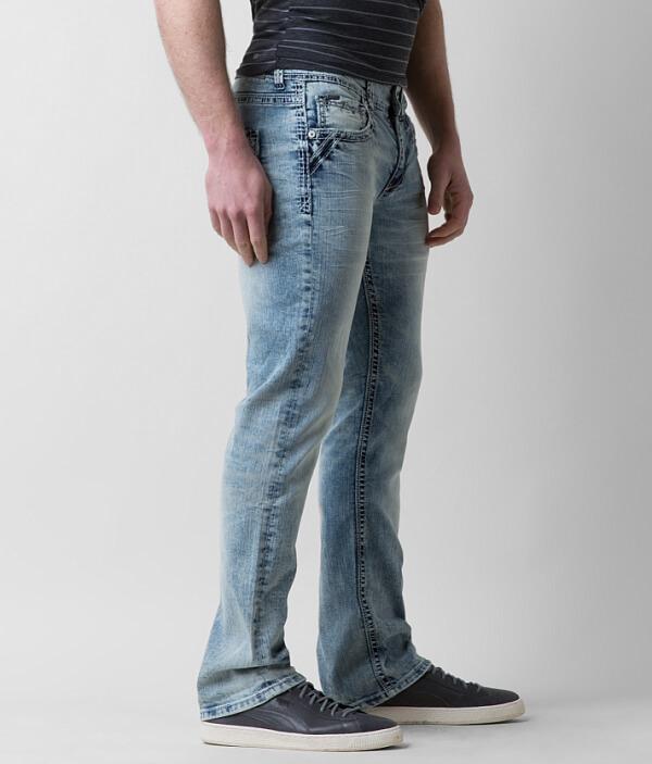 Three Buckle Stretch Black Jean Boot HpxH4w8qn