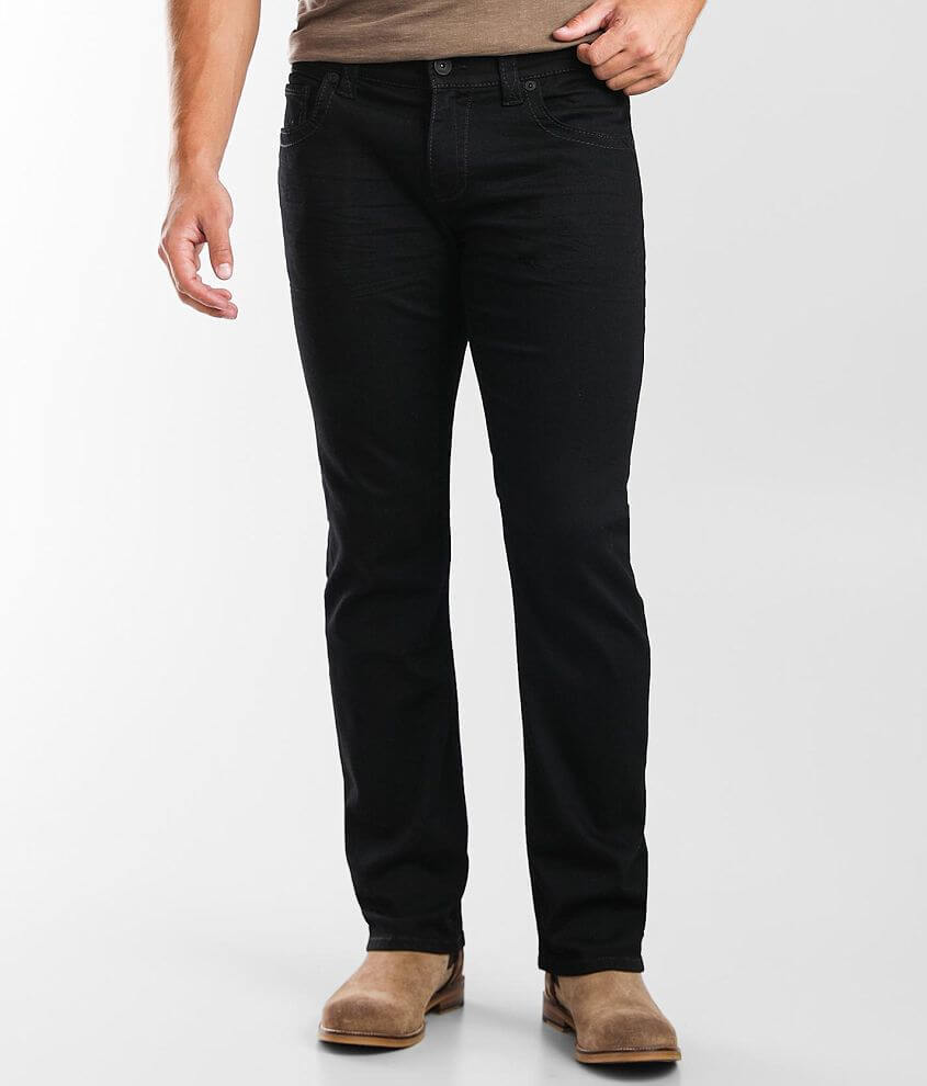 Buckle Black Nine Straight Stretch Jean front view