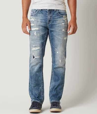 Buckle Black Nine Straight Stretch Jean