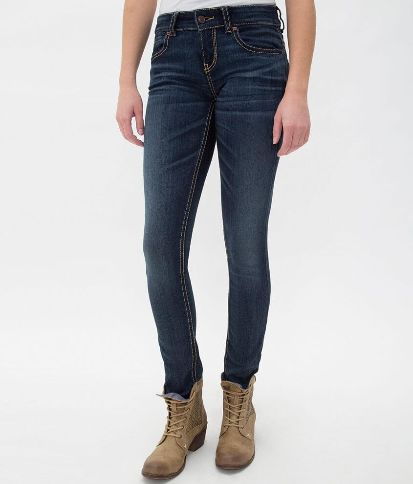 Buckle Black Fit No. 95 Skinny Stretch Jean front view