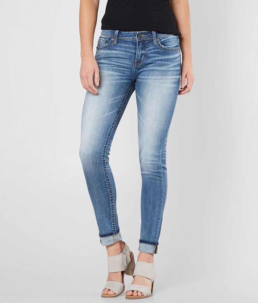 Buckle Black Fit No. 76 Skinny Stretch Jean front view