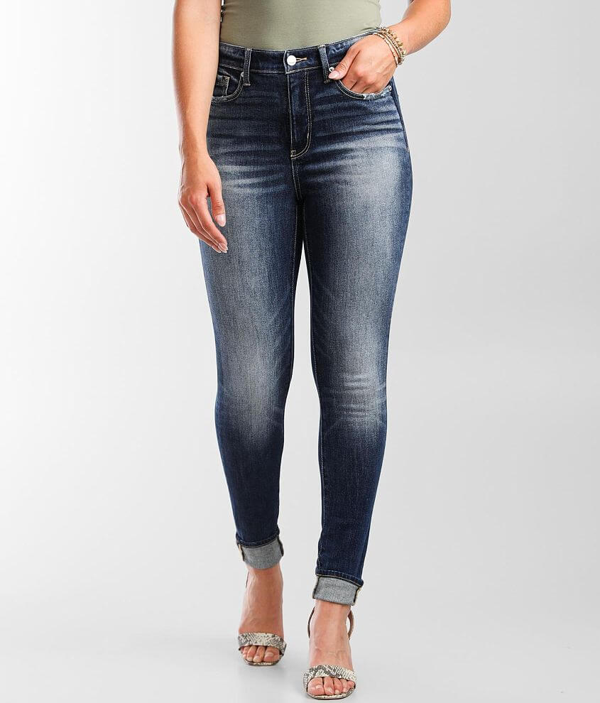 Buckle Black Fit No. 75 High Ankle Skinny Jean front view