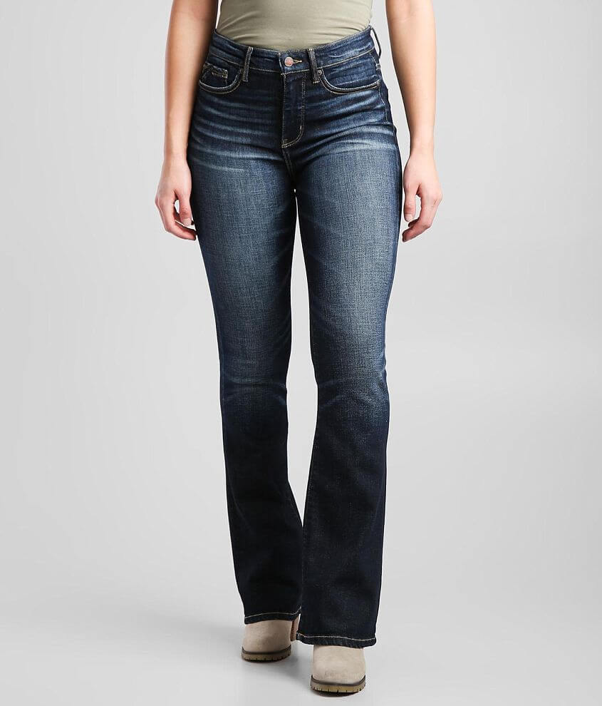 Buckle Black Fit No. 75 High Rise Boot Jean front view