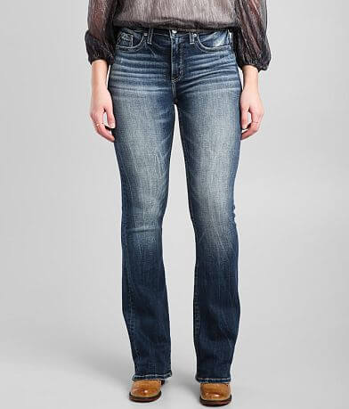 Buckle Black Fit No. 93 Mid-Rise Boot Stretch Jean