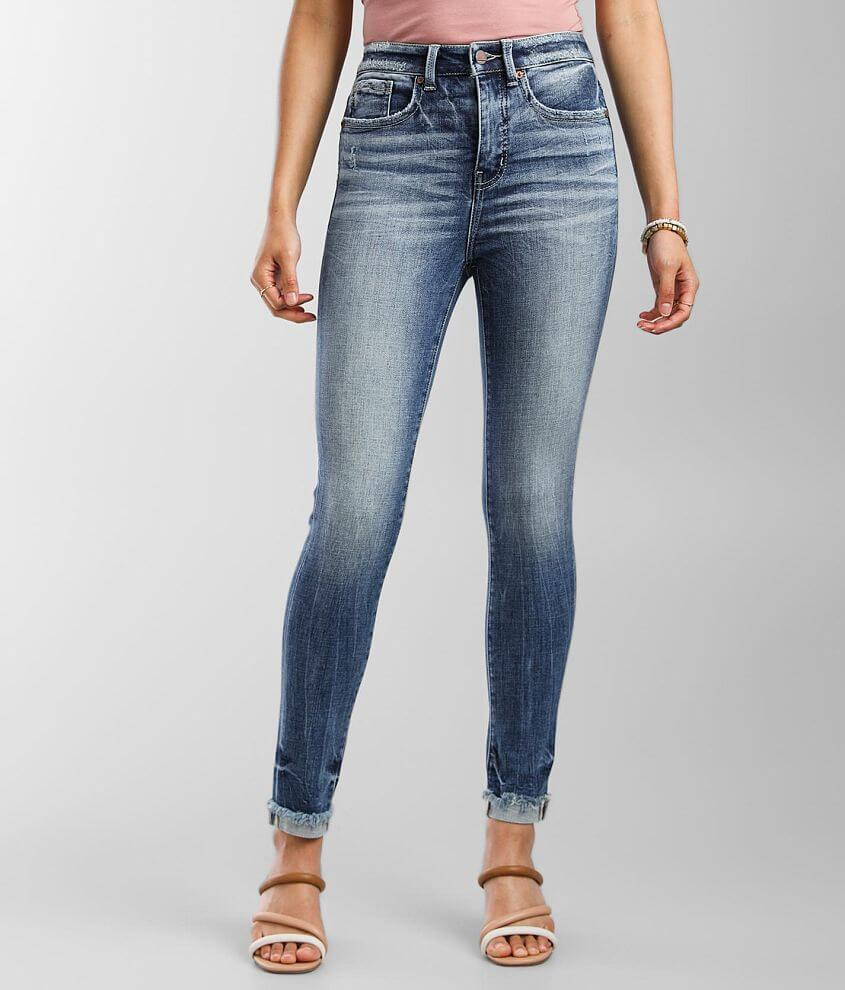 Buckle Black Fit No. 35 Ankle Skinny Cuffed Jean front view
