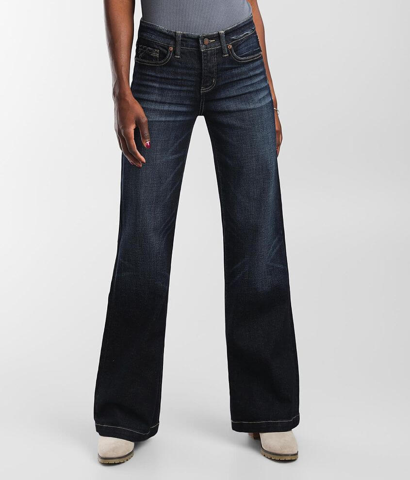 Buckle Black Fit No. 53 Trouser Stretch Jean front view