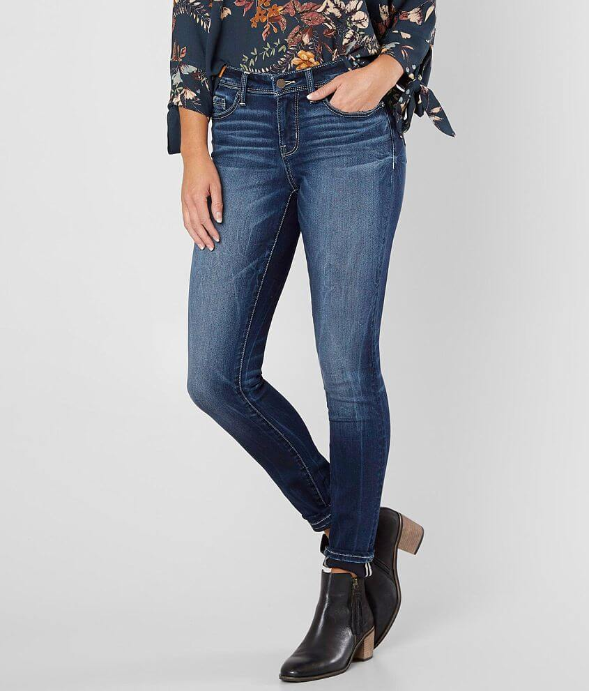 Buckle Black Fit No. 23 Skinny Stretch Jean front view