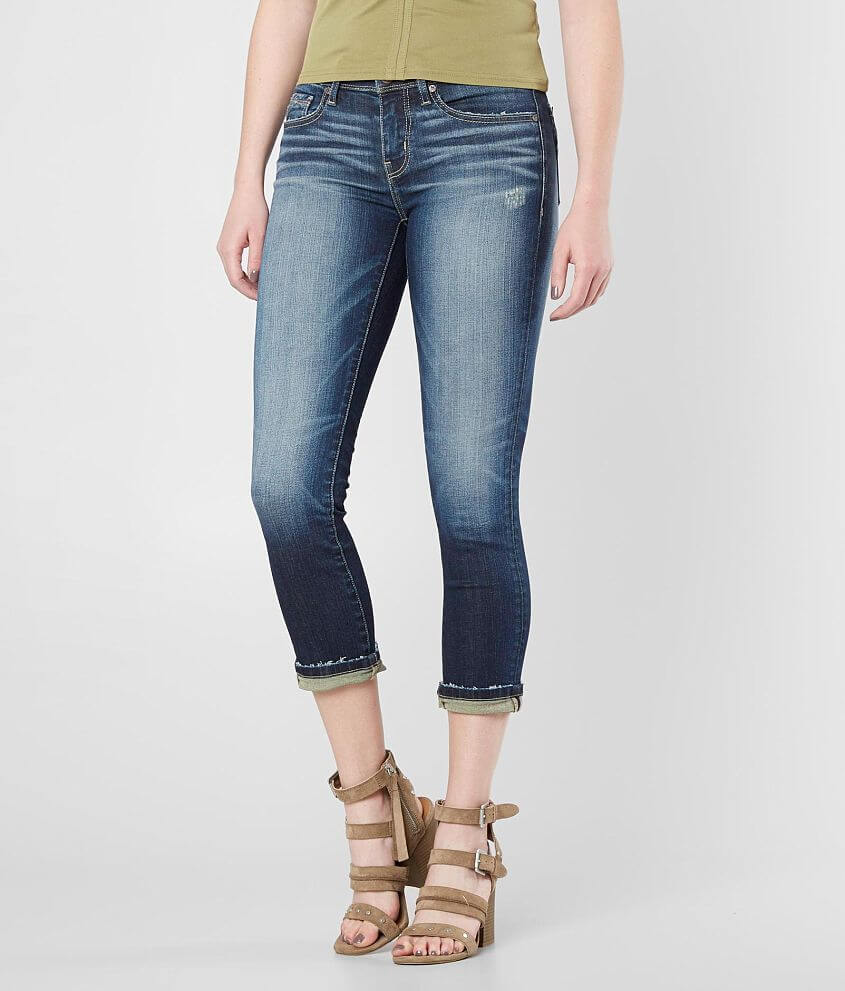 Buckle Black Fit No. 53 Stretch Cropped Jean front view