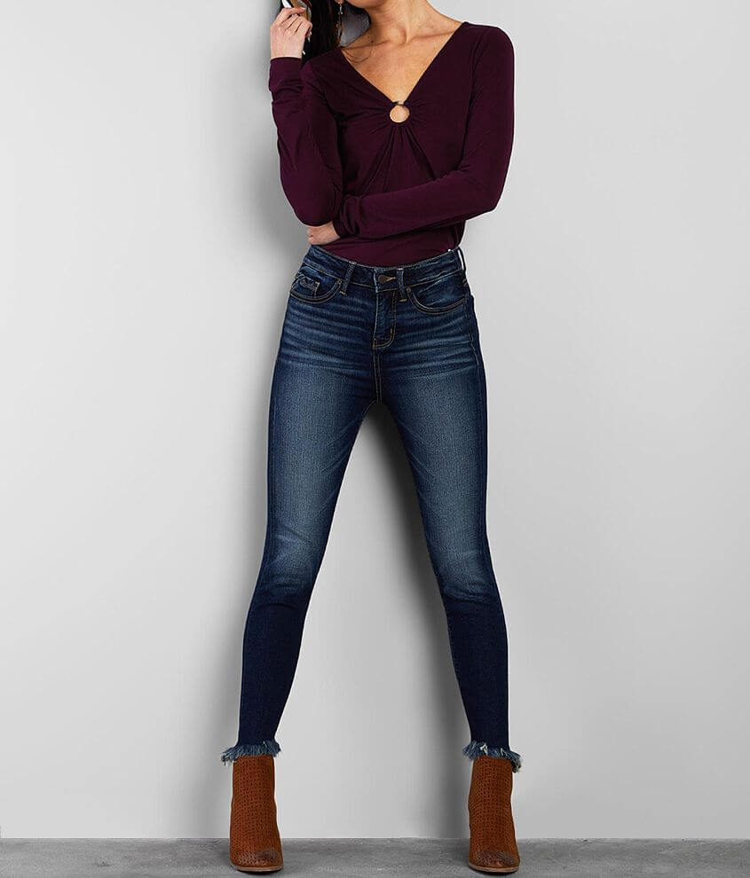 Buckle Black Fit No. 53 High Ankle Skinny Jean front view
