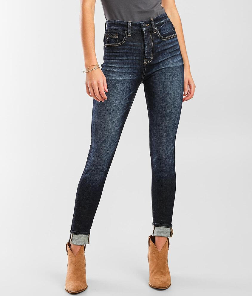 Buckle Black Fit No. 35 Skinny Stretch Jean front view