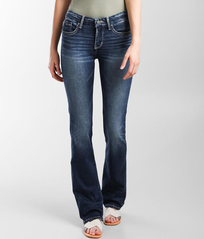 Buckle Black Fit No. 53 Tailored Boot Stretch Jean front view