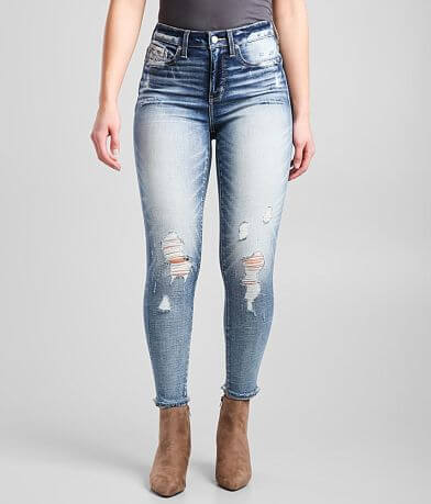 Buckle Black Fit 75 High Rise Ankle Skinny Jean