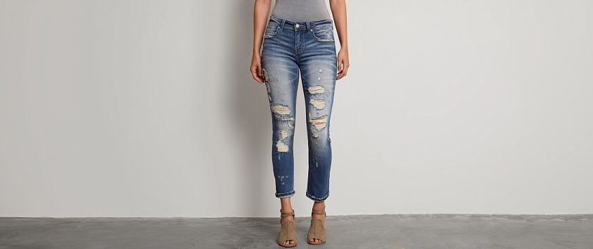 Buckle Black Fit No. 256 Slouchy Stretch Jean front view