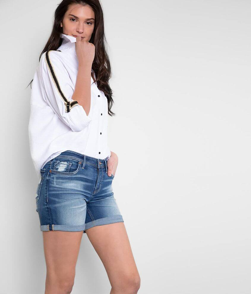 Buckle Black Fit No. 256 Stretch Cuffed Short front view