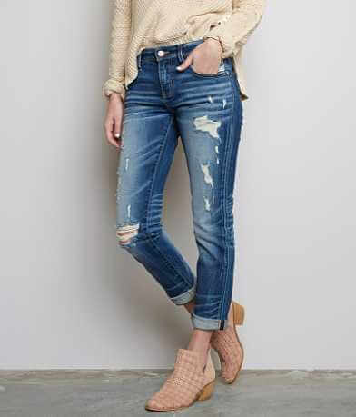 Buckle Black Fit No. 256 Stretch Cropped Jean