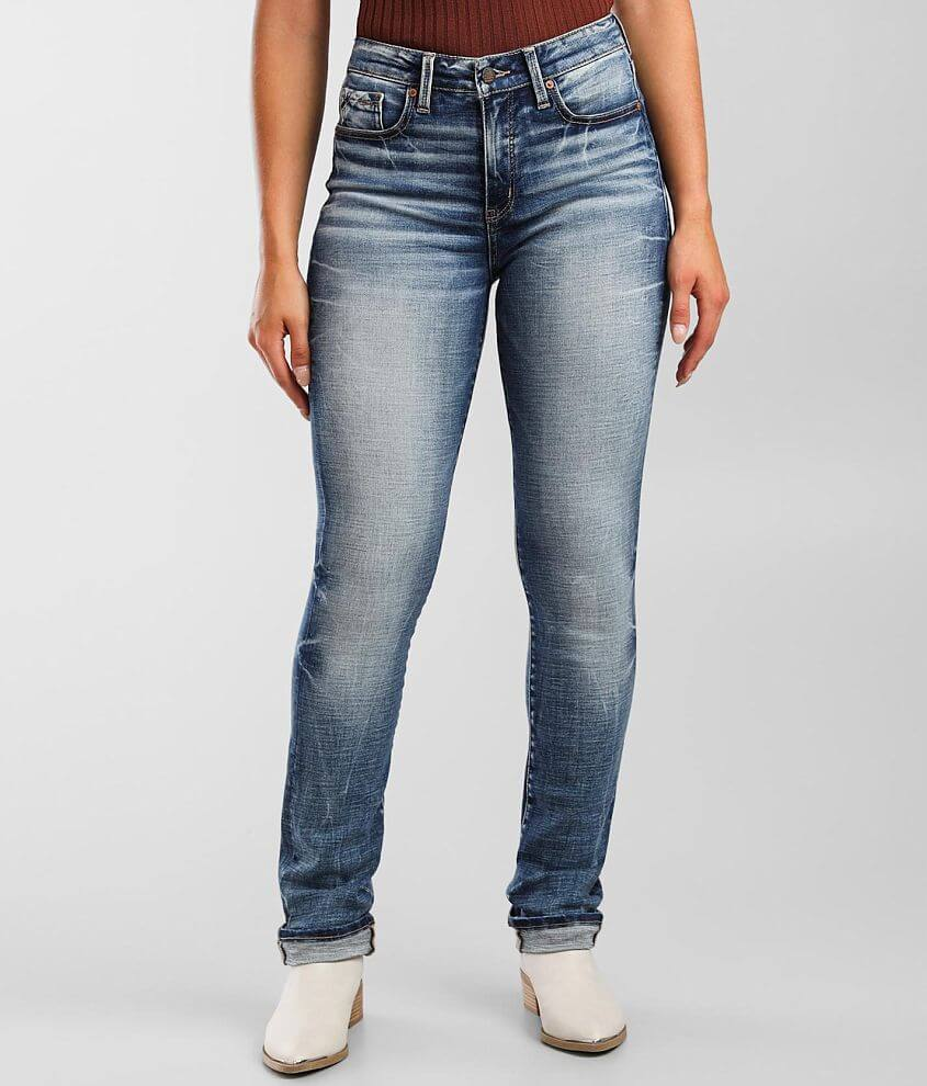 Buckle Black Fit No 93 Mid-Rise Straight Jean front view