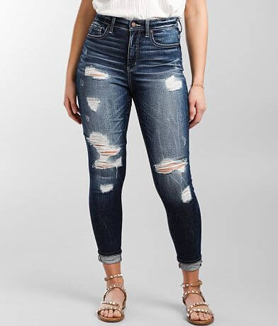 Buckle Black Fit No. 75 Ankle Skinny Stretch Jean