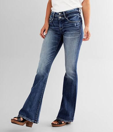 Buckle Black Fit No. 53 Mid-Rise Flare Jean