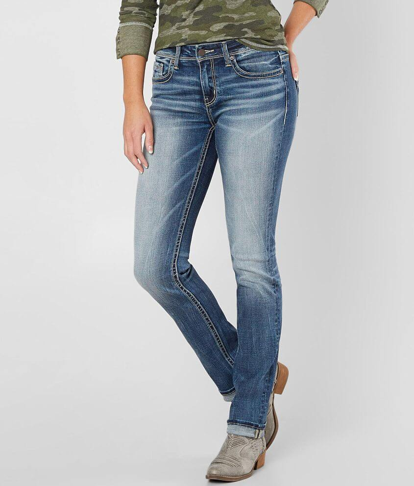 Buckle Black Fit No. 76 Straight Stretch Jean front view