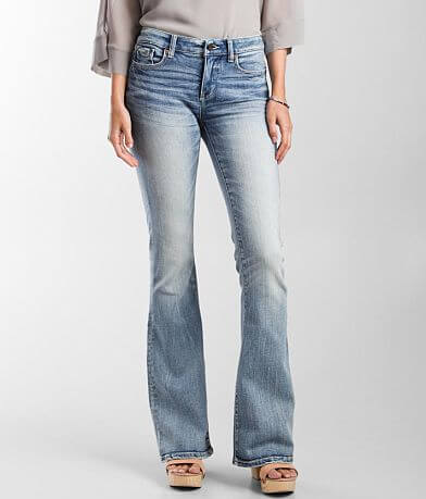 Buckle Black Fit No Mid-Rise 53 Flare Stretch Jean