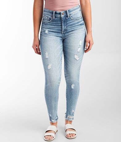 Buckle Black Fit No 75 High Rise Ankle Skinny Jean